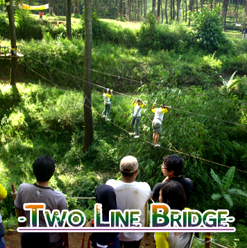 To line bride - Two Line Bridge